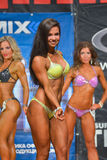 Body-building competition Stock Photo