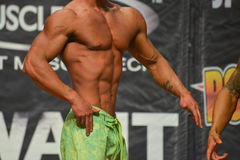 Body-building competition Royalty Free Stock Photo