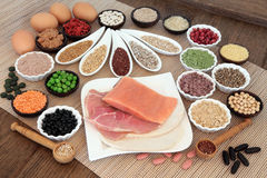 Body Building Diet food Stock Images