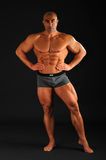 Body Building , Extreme muscle man Stock Images