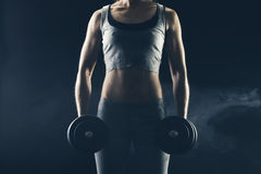 Body building stock image