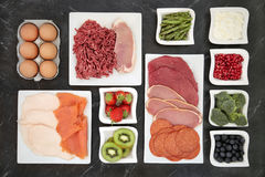Body Building Food Stock Image