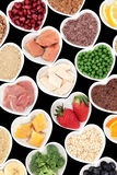Body Building Foods Stock Image
