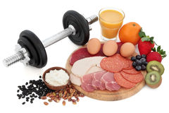 Body Building Health Food Stock Photo