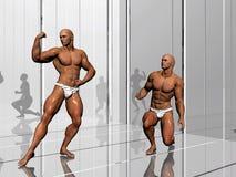 Body building, lifestyle. Stock Image