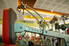 Body Building Machine Stock Image