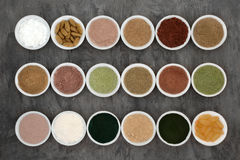 Body Building Powders and Supplements Royalty Free Stock Image