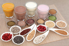 Body Building Superfood Stock Photography