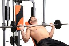 Body building workout Stock Photos