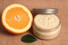 Body butter Stock Image
