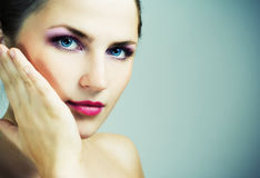 Body care. Royalty Free Stock Photography