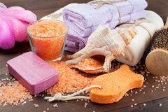 Body Care Accessories Royalty Free Stock Photography