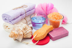 Body Care Accessories Royalty Free Stock Images