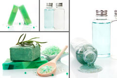 Body Care Background. Royalty Free Stock Images