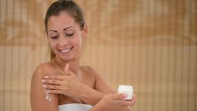 Body Care stock video footage