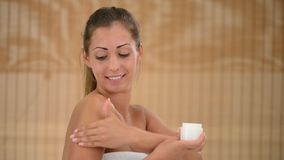 Body Care stock footage