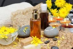 Body care-beauty treatment Royalty Free Stock Photo