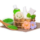 Body care cosmetics Stock Images