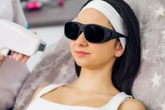 Body Care. Laser Hair Removal. Epilation Treatment. Smooth Skin. Body Care. Laser Hair Removal. Epilation Treatment. Smooth Skin stock photos