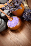 Body care; lavender aromatherapy Royalty Free Stock Images
