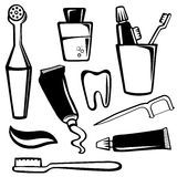 Body care objects Royalty Free Stock Photos