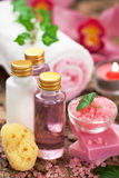 Body care products Royalty Free Stock Images