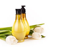 Body care products Stock Images