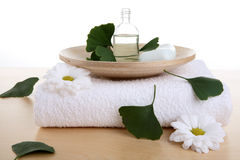 Body-care products Royalty Free Stock Images