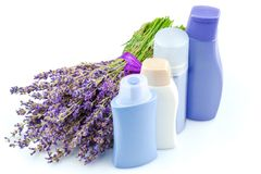 Body care products Royalty Free Stock Photo