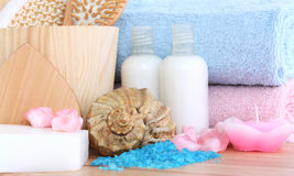 Body care and relaxation Royalty Free Stock Image