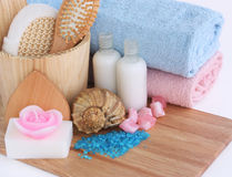 Body care and relaxation Stock Image