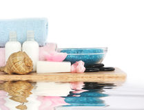 Body care and relaxation Royalty Free Stock Images