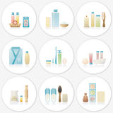 Body care set vector illustration