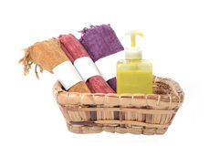 Body care set. Royalty Free Stock Photography