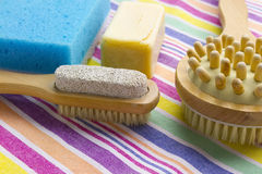 Body care set Royalty Free Stock Photography