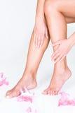 Body care at spa Stock Photos