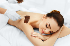 Body Care. Spa Beauty Treatment. Cosmetic Mask. Skin Care. Royalty Free Stock Image