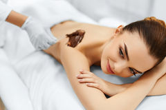 Body Care. Spa Beauty Treatment. Cosmetic Mask. Skin Care. Stock Photos