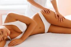 Body care. Spa body massage treatment. Royalty Free Stock Photos