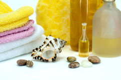 Body care treatment Stock Photos
