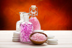Body care treatment royalty free stock image