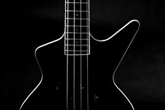 Body of a classic  bass guitar Royalty Free Stock Images