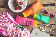 Body creams and accessories