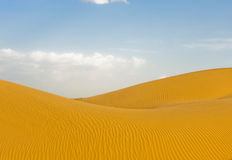 Body of desert Royalty Free Stock Photography