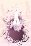 Body flower girl feet background Stock Photos