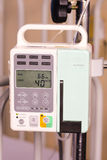 Body fluid infusion pump. Used for dripping water and/or other necessary fluid into the human body Stock Image