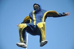 Body Flying Royalty Free Stock Photo