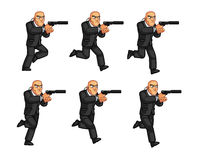 Body Guard Animation Sprite Stock Photos