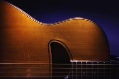 Body of Gypsy Jazz Guitar