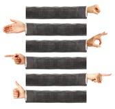 Body language Stock Images